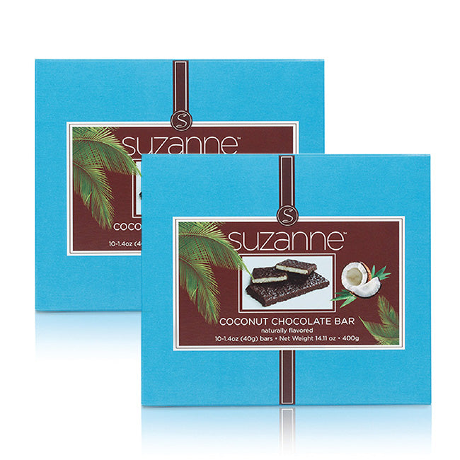 SUZANNE Coconut Chocolate Bars (2 Boxes)