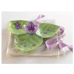 SUZANNE Violet Chip and Dip Bowl