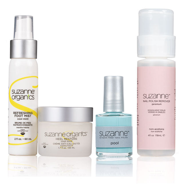SUZANNE Organics Foot Restoration Kit