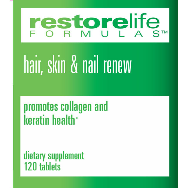 RestoreLife Formulas Hair, Skin & Nail Renew Supplement