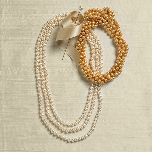 Jewelry - 80 Inch Fresh Water Pearl Necklace