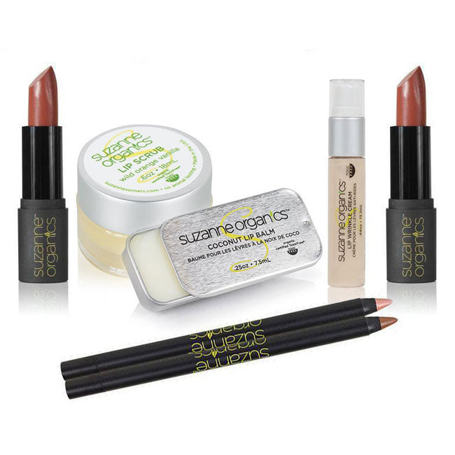 "SUZANNE Organics ""Kiss Me, I'm Irish"" Mega Lip Kit"