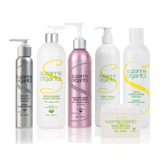 SUZANNE Organics 6 Piece Ultimate Body Care Kit
