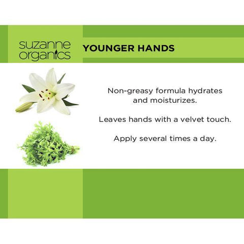 SUZANNE Organics Younger Hands Anti-Aging Hand Cream