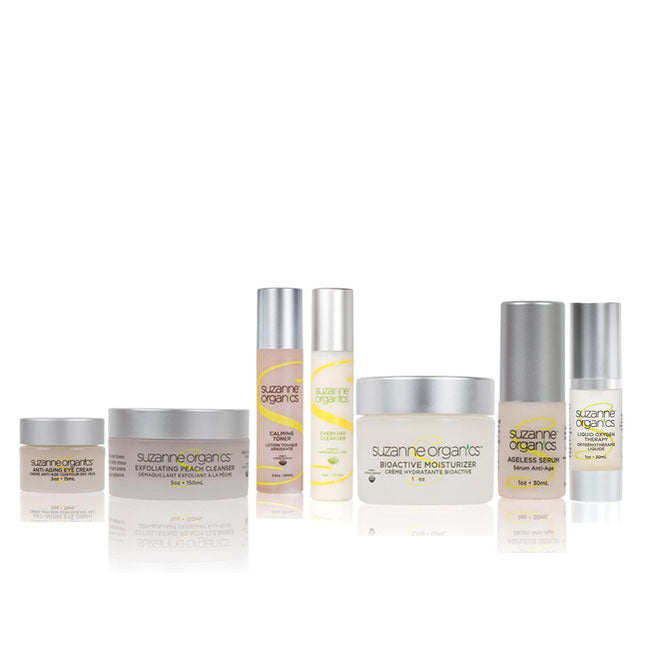 SUZANNE Organics 7-Piece Ultimate Summer Glow Skincare Kit