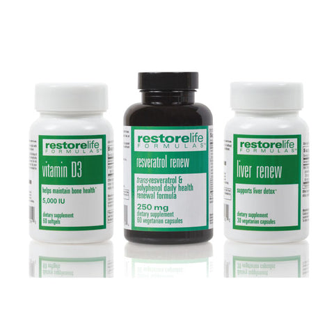 RestoreLife Detox Supplement Bundle