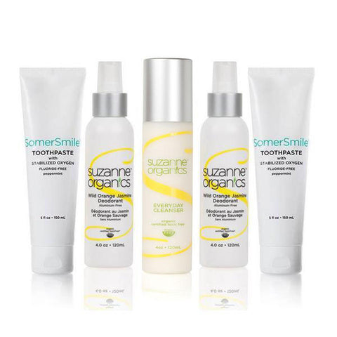 SUZANNE Organics Supreme Toxic-Free Daily Essentials Kit