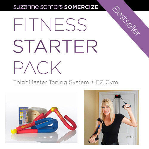 SUZANNE Fitness Starter Pack – EZ Gym PLUS ThighMaster Toning System