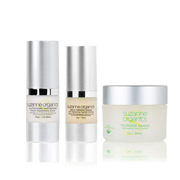 SUZANNE Organics Targeted Anti‑Aging Trio