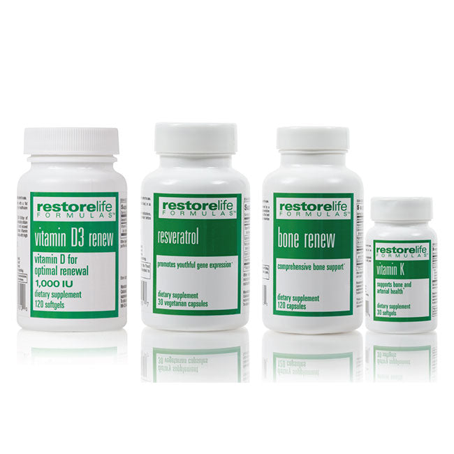 RestoreLife 4-Piece Supplement Bundle