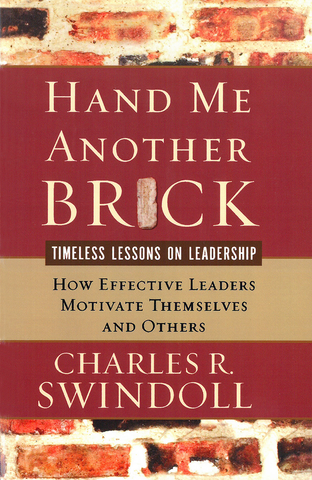 Hand me another brick - Book