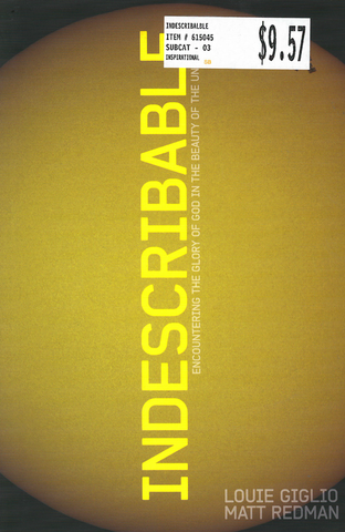 Indescribable - Book
