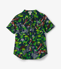Load image into Gallery viewer, Hatley Short Sleeve Button Down Shirt - Jungle Safari