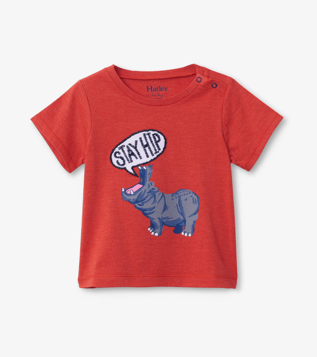 Hatley Graphic Tee - Hip Hippo