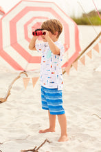 Load image into Gallery viewer, Hatley Quick Dry Shorts - Blue Stripe