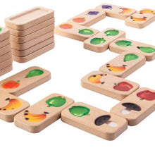 Load image into Gallery viewer, Plan Toys - Fruit and Veggie Domino