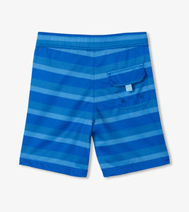 Hatley Quick Dry Shorts - Blue Stripe