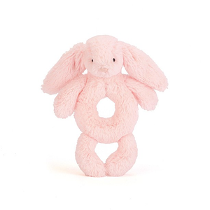 Jellycat Ring Rattle - Blush Bunny