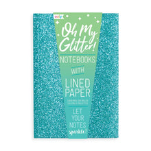 Load image into Gallery viewer, OOLY Oh My Glitter! Notebook - Blue