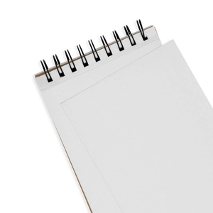 OOLY DIY Cover Sketchbook - White