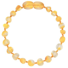 Load image into Gallery viewer, Powell's Owls Amber Teething Bracelet - Unpolished Honey