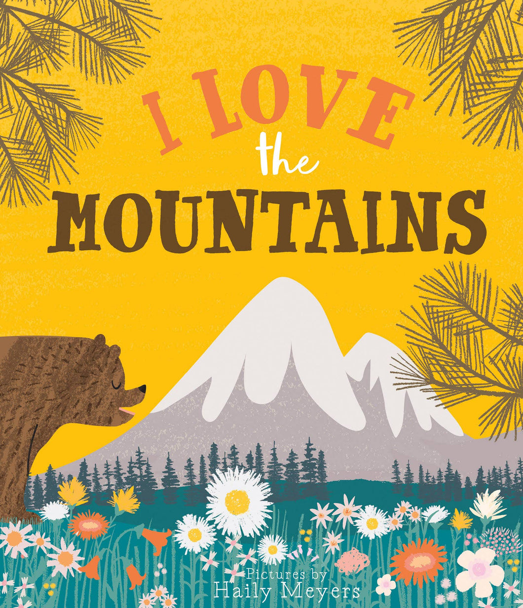 Lucy Darling - I Love the Mountains Book
