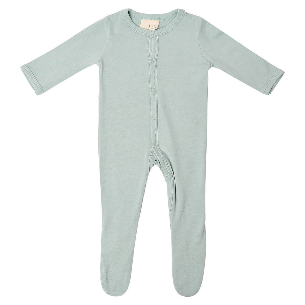 Kyte BABY Solid Footie - Sage