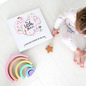 Lucy Darling - The Little Years Toddler Memory Book - Girl