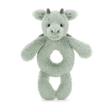 Load image into Gallery viewer, Jellycat Ring Rattle - Dragon