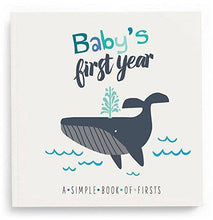 Load image into Gallery viewer, Lucy Darling - Baby's First Year Memory Book - Little Captain