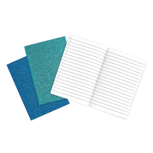 OOLY Oh My Glitter! Notebook - Blue