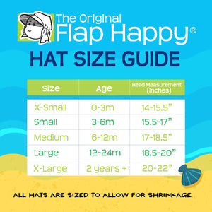 Flap Happy Floppy Hat - Navy