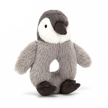 Load image into Gallery viewer, Jellycat Ring Rattle - Percy Penguin