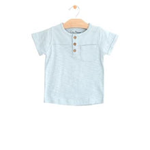 Load image into Gallery viewer, City Mouse Pocket Henley Tee