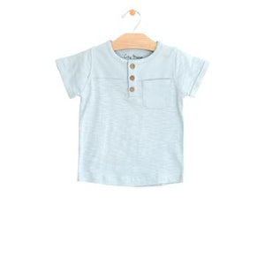 City Mouse Pocket Henley Tee
