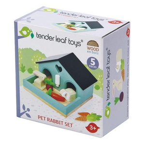 Tender Leaf Toys - Pet Rabbit Set