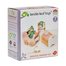 Load image into Gallery viewer, Tender Leaf Toys - Doll House Nursery Set