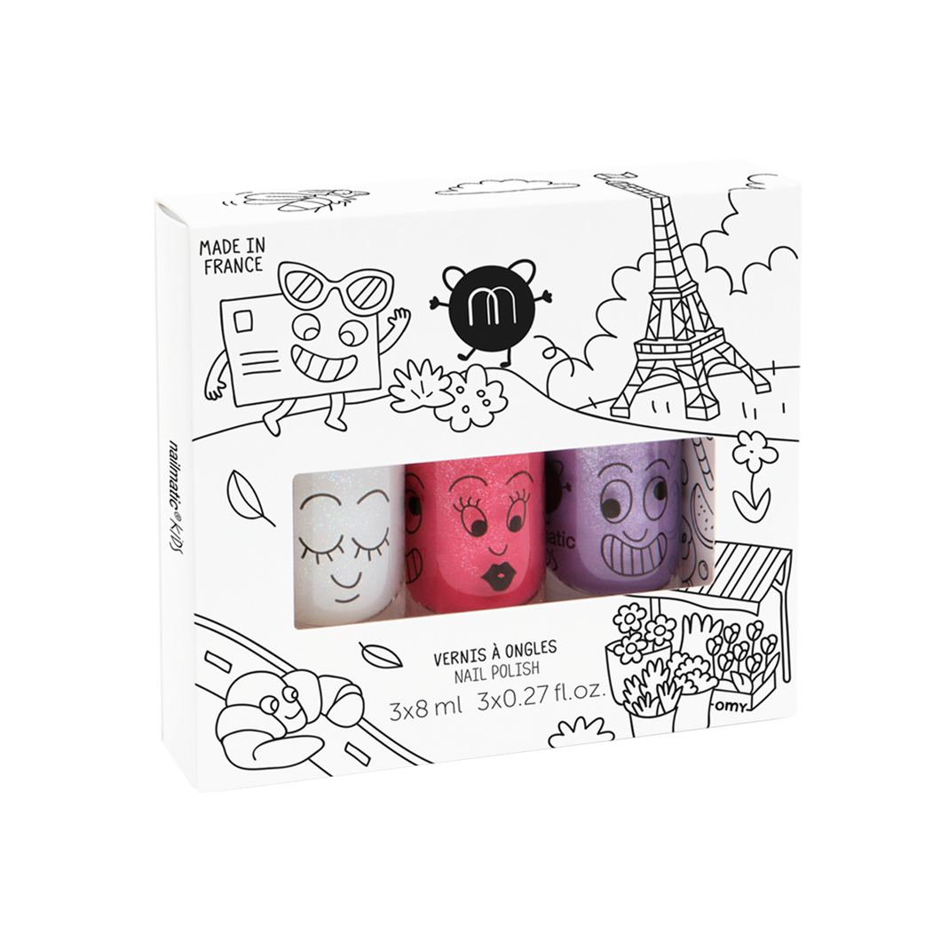 Nailmatic Set of 3 - City