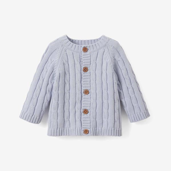 Elegant Baby Classic Cable Knit - Blue