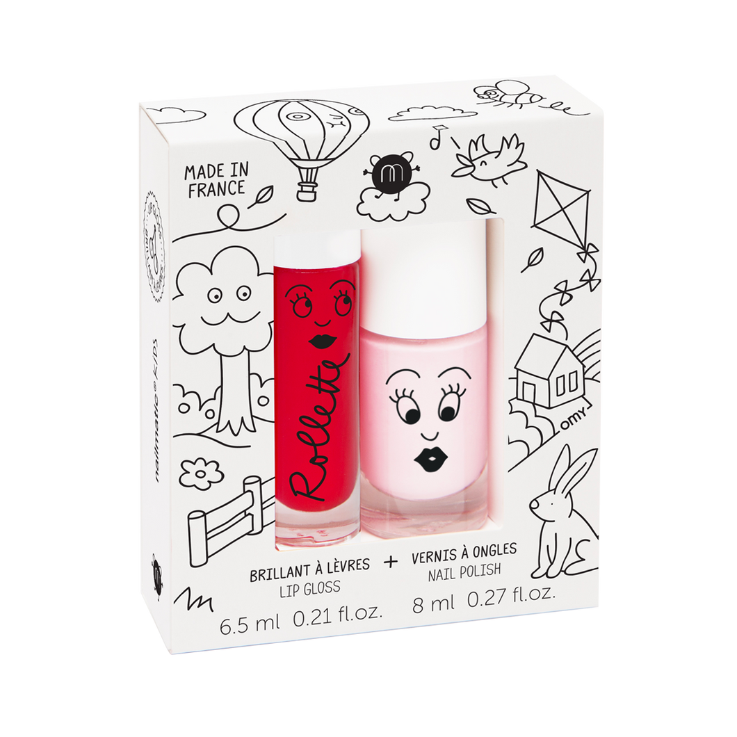 Nailmatic Polish + Lipgloss - Kids Cottage