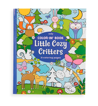 Load image into Gallery viewer, OOLY Color-in' Book - Little Cozy Critters