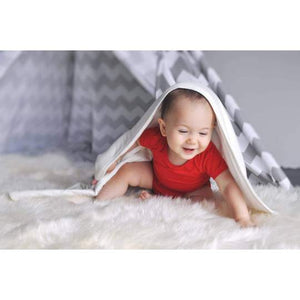 Kyte BABY Solid Baby Blanket - Cloud
