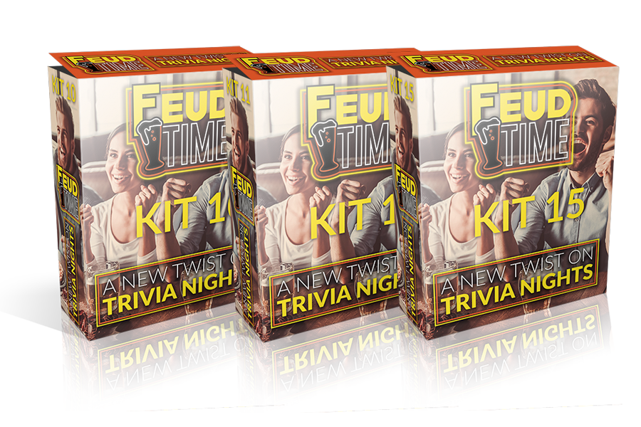 Feud Time 3-Pack #5 Includes Kit 13-14-15
