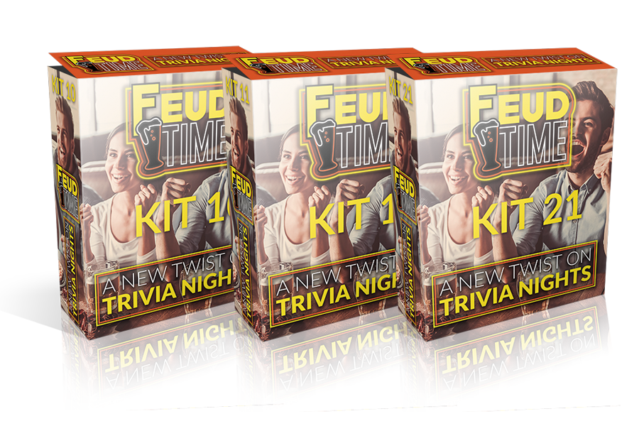 Feud Time 3-Pack #8 Includes Kit 22-23-24