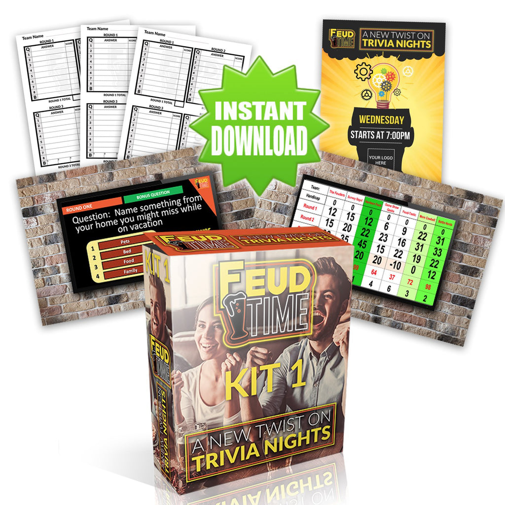 Feud Time Monthly Subscription - New Kit Every Week!