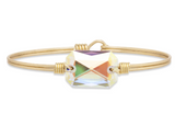 Luca+Danni Dylan Bangle in Aurora Borealis