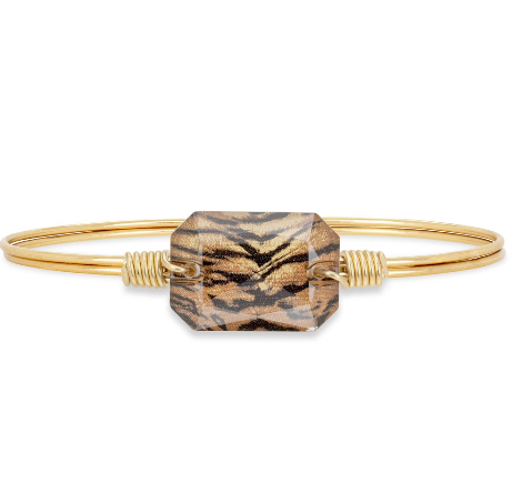 Luca+Danni Dylan Bangle Bracelet in Tiger