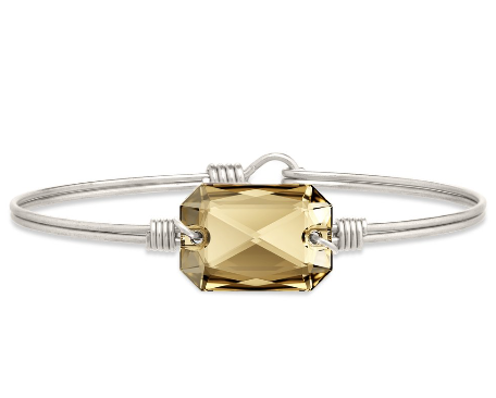 Luca+Danni Dylan Bangle Bracelet in Champagne