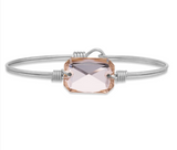 Luca+Danni Dylan Bangle in Dusty Rose