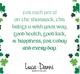 Luca+Danni Shamrock Bangle Bracelet